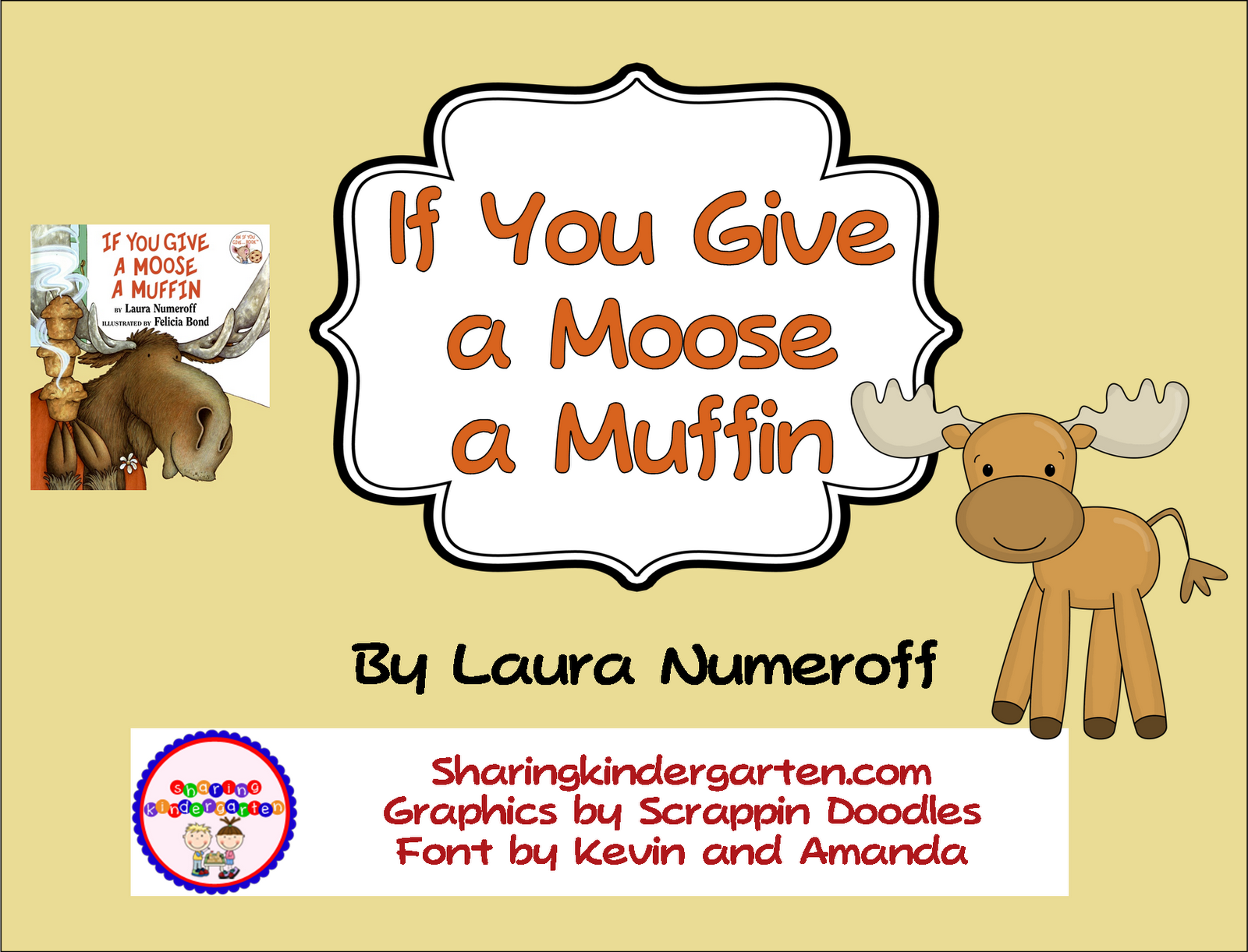 Blog Hoppin If You Give A Moose A Muffin