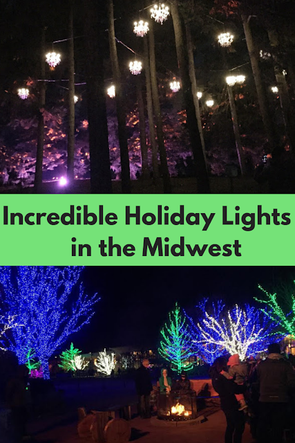 Incredible holiday light displays in the Midwest