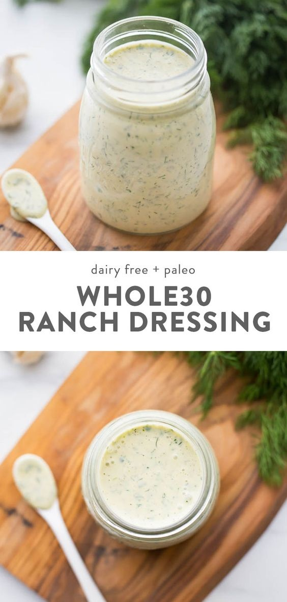 Whole30 Ranch Dressing