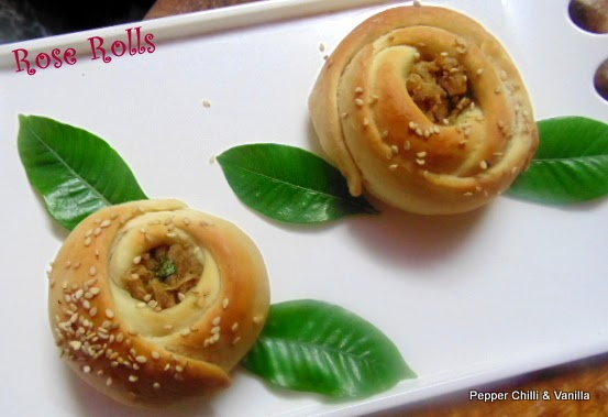 rose rolls recipe ,rose rolls with pics