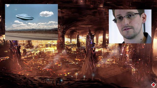 Snowden Reveals Documents: 'Advanced Civilization Lives Underground'