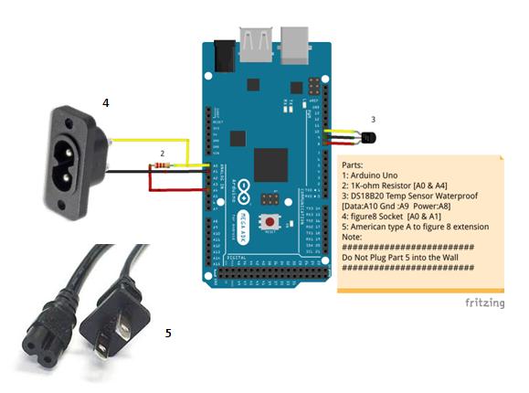 arduino: arduino TDS meter - cheap tds