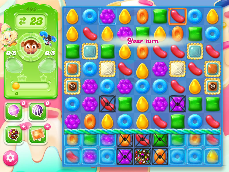Candy Crush Jelly Saga 493