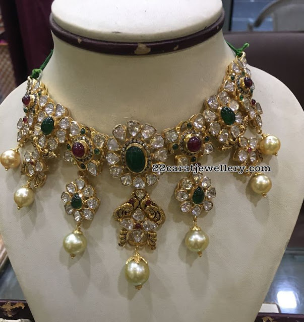 Latest Pachi Necklace by Ganesh Jewels