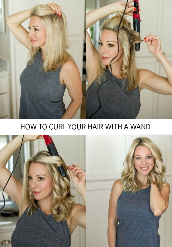 How to Curl Your Hair for Loose Waves | Honey We're Home