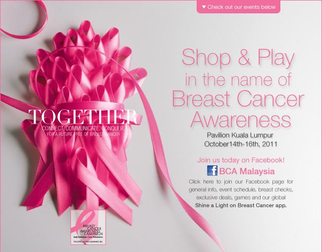 The Beauty Junkie - ranechin.com: Estée Lauder Companies Breast Cancer  Awareness Campaign