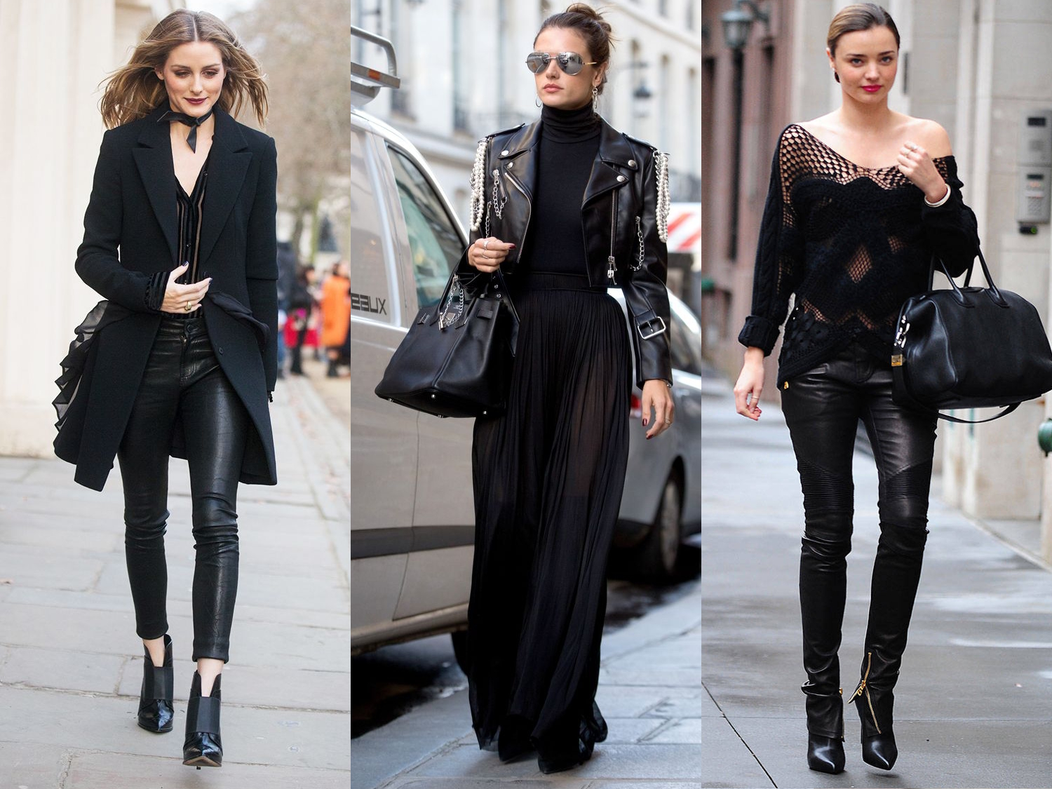 black color clothing outfit liz breygel january girl fashion style trend blog blogger