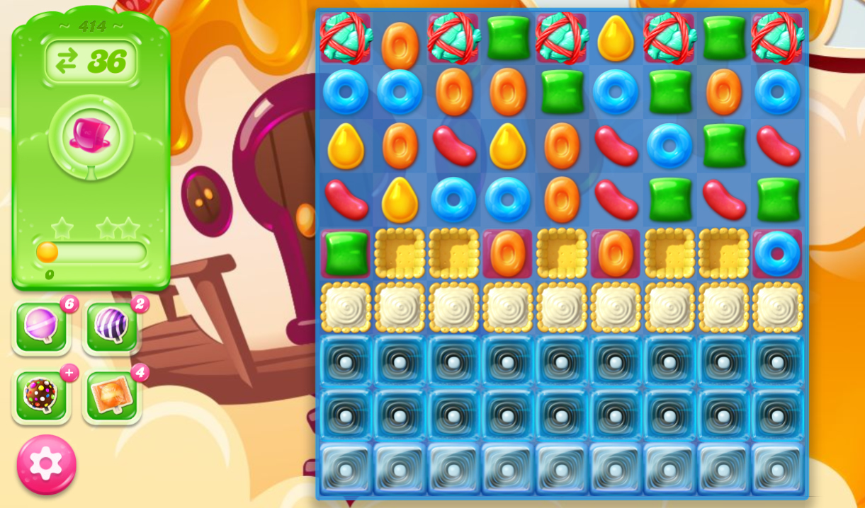 Candy Crush Jelly Saga 414