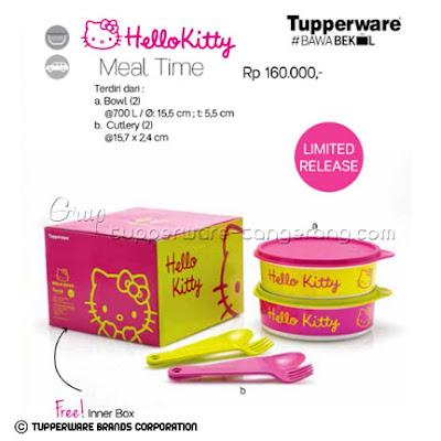 Hello Kitty Meal Time ~ Katalog Tupperware Promo Mei 2016