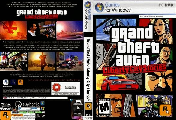 Game Grand Theft Auto: Liberty City Stories PC