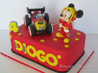disney cake Mickey and the Roadster Racers