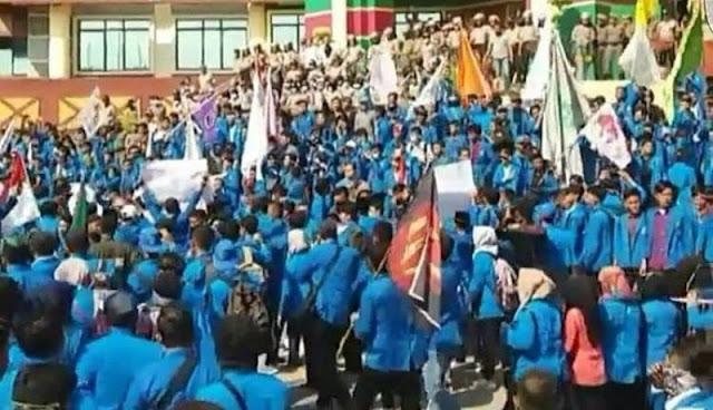 Demo Dianggap Hina Jokowi, Sejumlah Mahasiswa UIR Dipolisikan