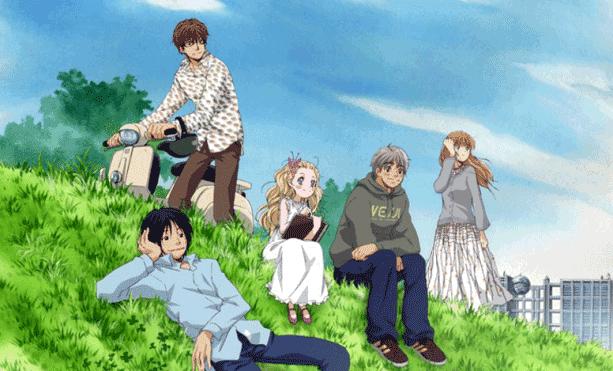 Hachimitsu to Clover - Top Anime Romance Sad Ending List