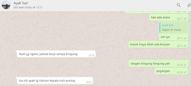 Chatting Dengan Ayah