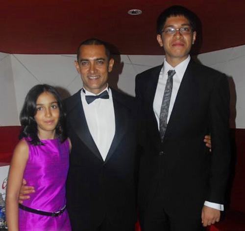 Amir Khan With Children Photos - test