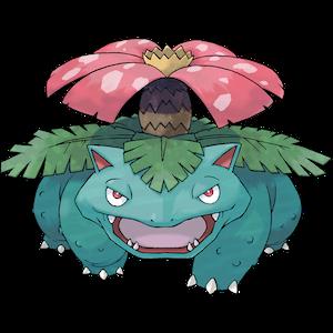 妙蛙花 Venusaur 配招最佳技能   Pokémon Go 寶可夢精靈攻略推薦   妙蛙花配招   奇異花 - 樂   書
