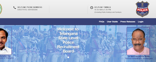 @tslprb.in : Telangana State Level Police Recruitment 2018 Hall Tickets @www.tslprn.in