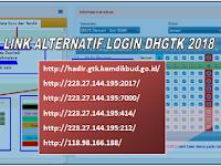 5 link alternatif DHGTK  bila login atau masuk DHGTK susah di akses
