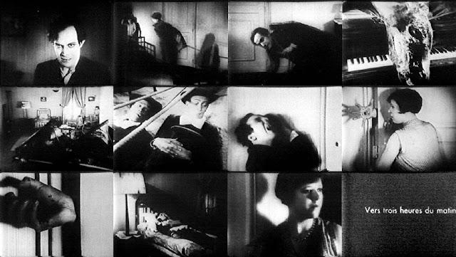 Stills from 'Un Chien Andalou'
