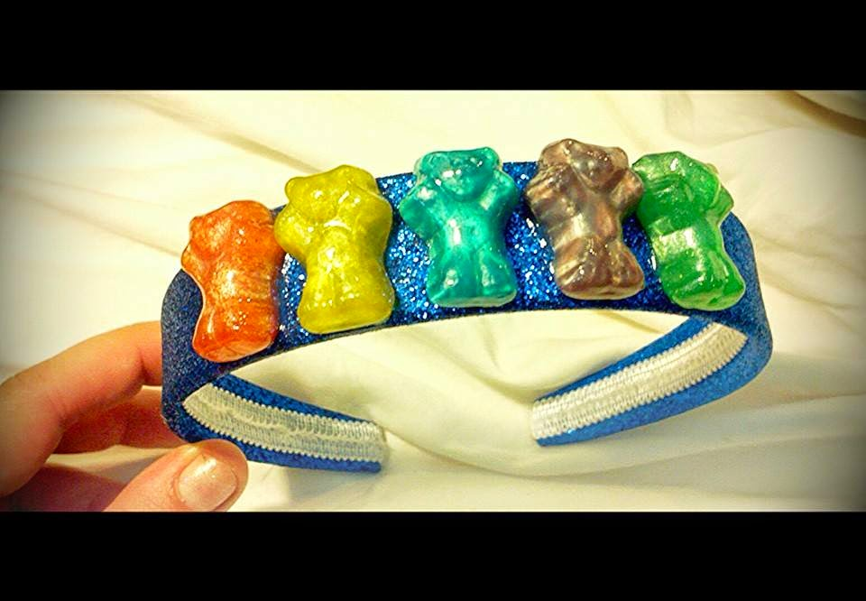 Metallic Gummy Bear Headband