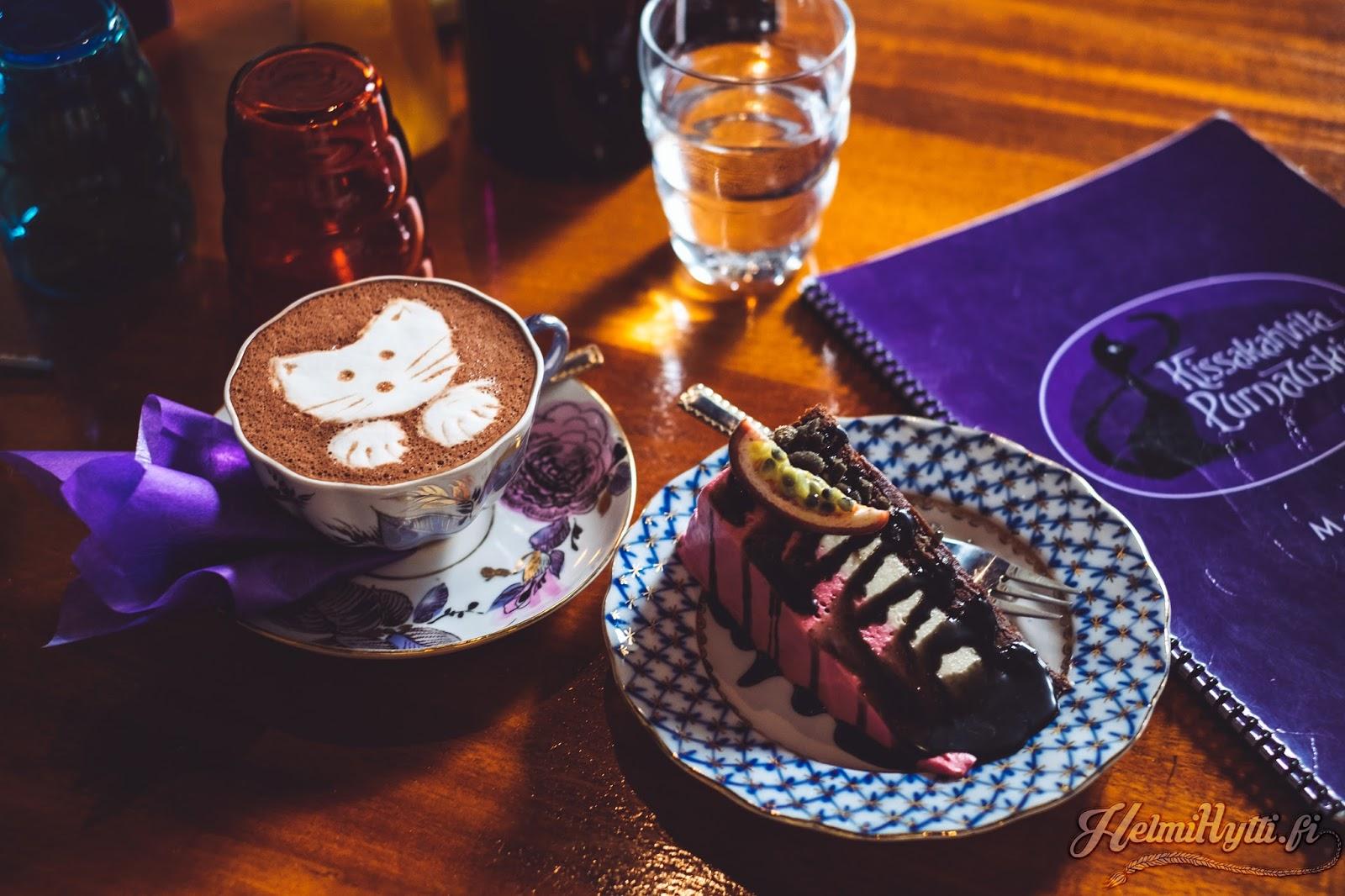 kahvila tampere kissakahvila purnauskis cat cafe