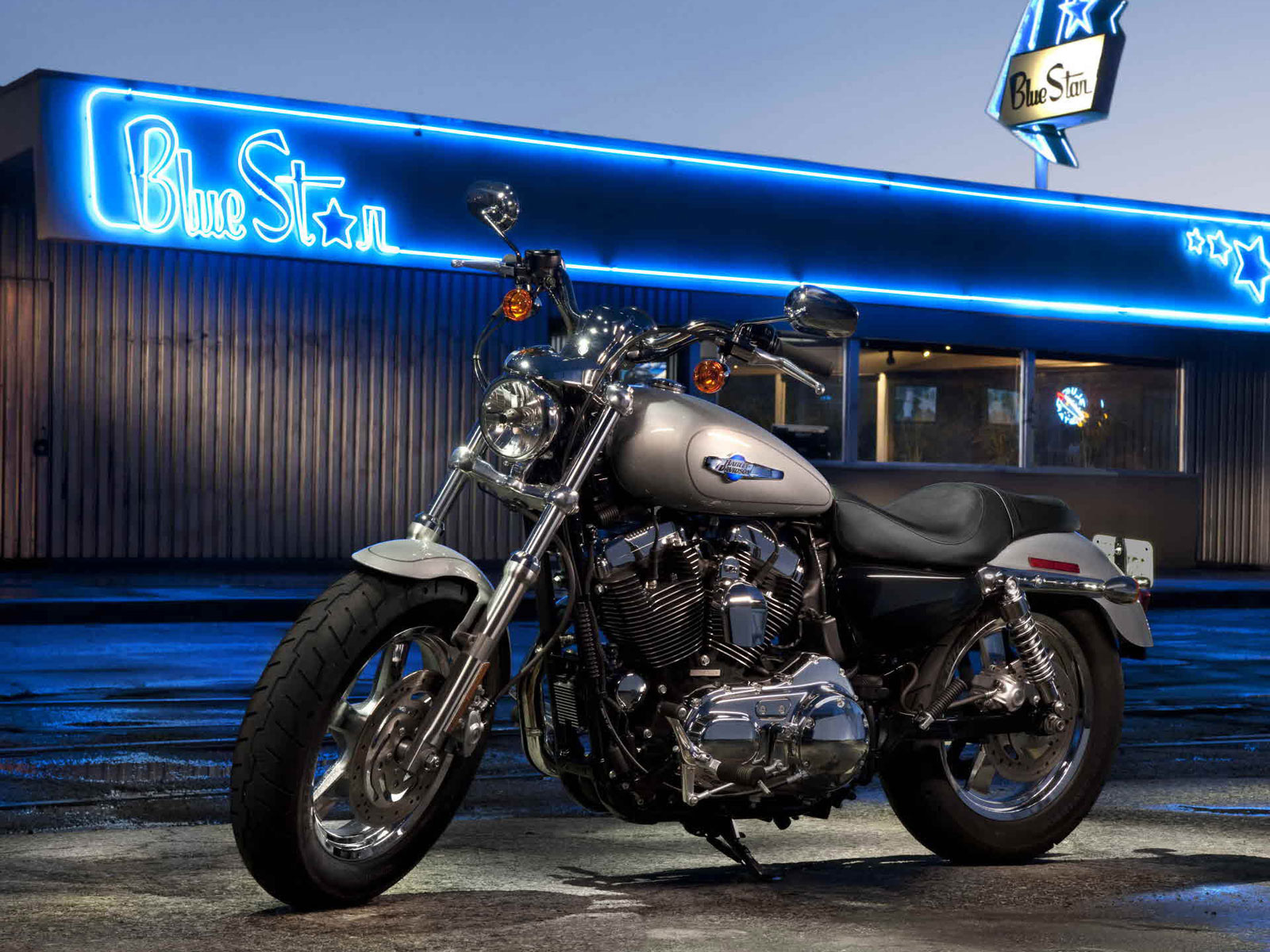 2012 Harley-Davidson XL1200C Sportster 1200 Custom