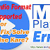 MX Player Error AC3 Audio Format Not Supported ko Fix/Solve Kaise Kare?