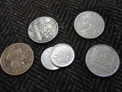 Pièces de monnaie (collection musée)