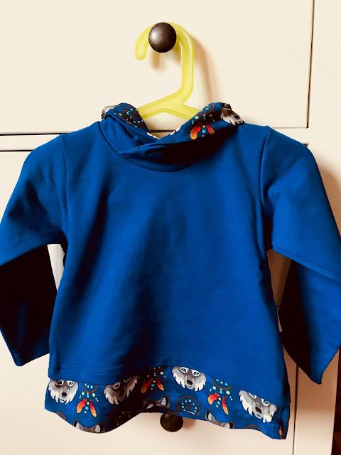 Sweatshirt mit Loopkragen von Babauba