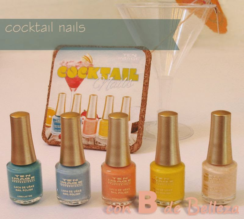 Cocktail nails Cazcarra