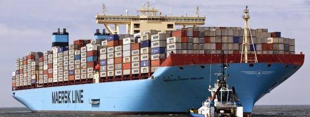 Portal Do Mar: Intersecção Do Navio Maersk Tigris Deve-se