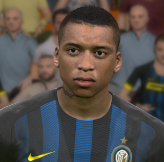 PES 2017 Faces Dalbert Henrique by WER Facemaker