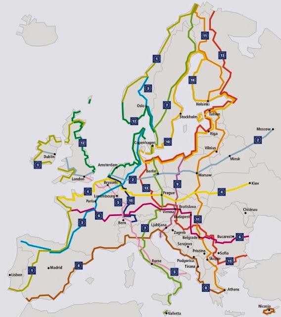 Rotas da Eurovelo