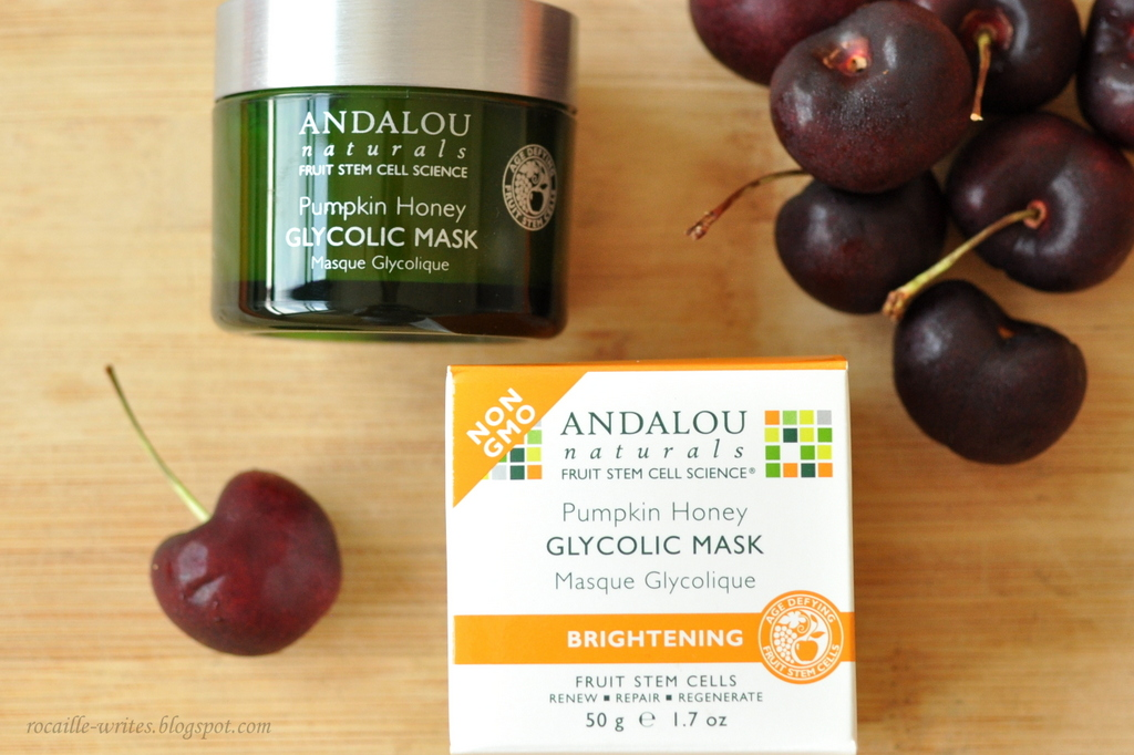 Inexpensive Finds: Andalou Naturals Pumpkin Honey Glycolic Mask Review