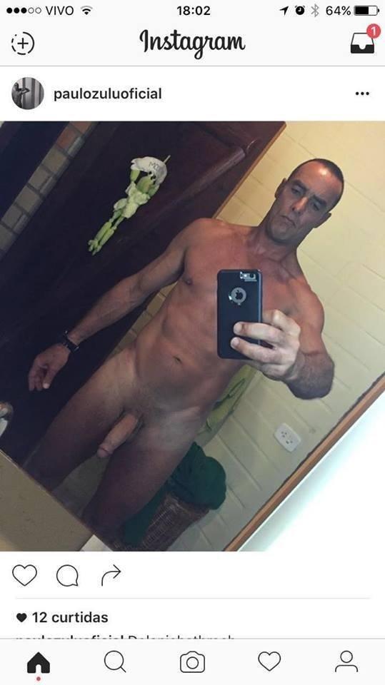 paulo zulu divulga foto pelado no instagram