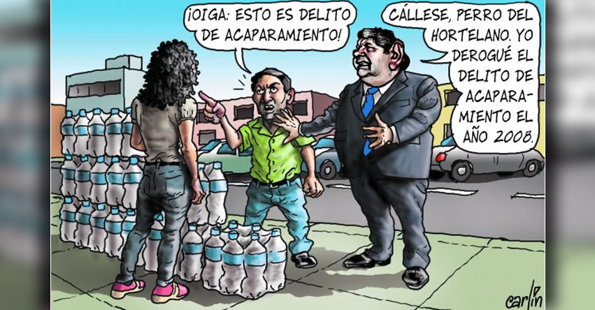 Carlincaturas Sábado 25 Marzo 2017 - La República
