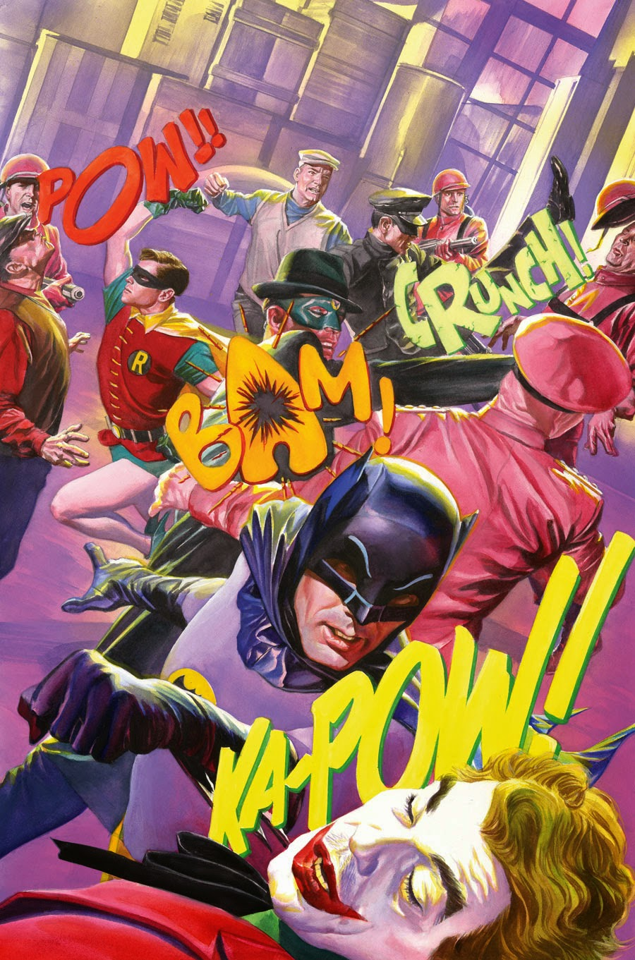Alex Ross Batman 66 Television Series