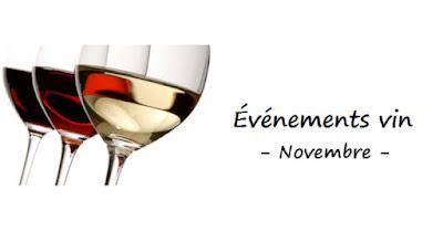 blog vin Beaux-Vins événement sortie salon œnologie dégustation Novembre