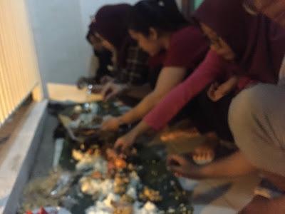 Haydar Iskandar Tahun Baru 2019 Sahabat Cinta Kebersamaan Makan Makan