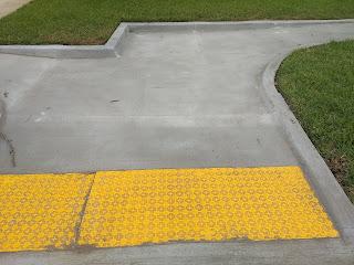 ada sidewalk ramp
