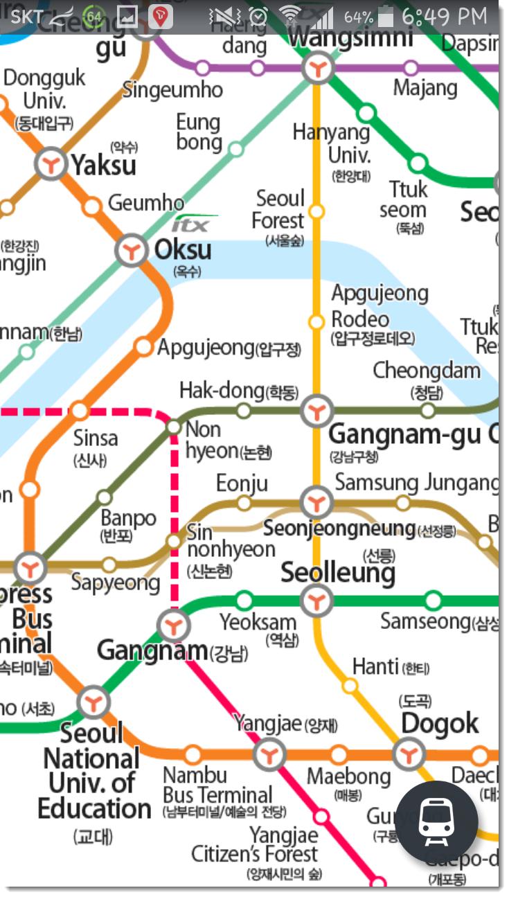 Korean Subway Map 2015.Korea To The World 2015