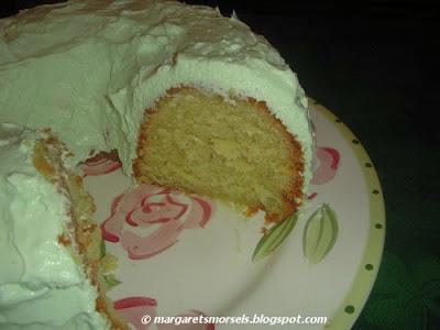 Margaret's Morsels | Pistachio Dream Cake