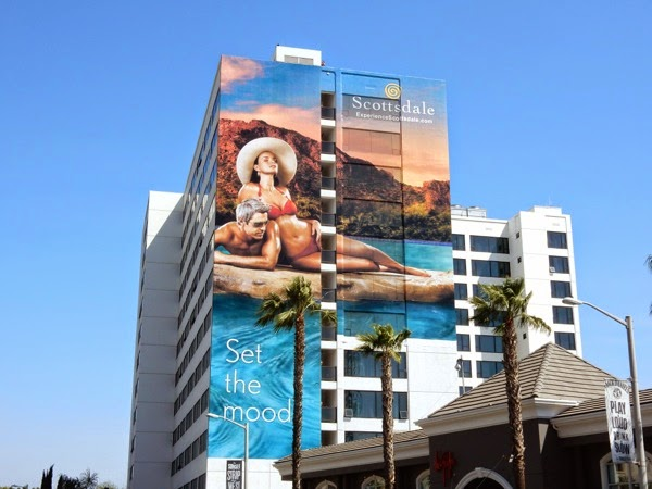 Giant Scottsdale tourism bilboard