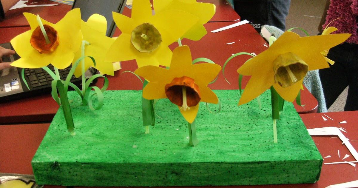 Melulater: Daffodil Day Art