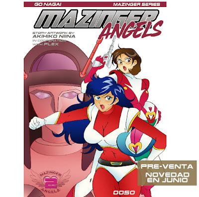 """""""Mazinger Angels"""" vol.2 será lanzado a finales de junio."""