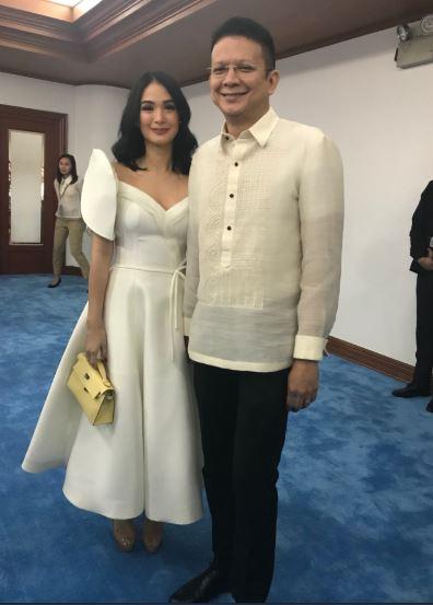 Heart Evangelista and Senator Chiz Escudero