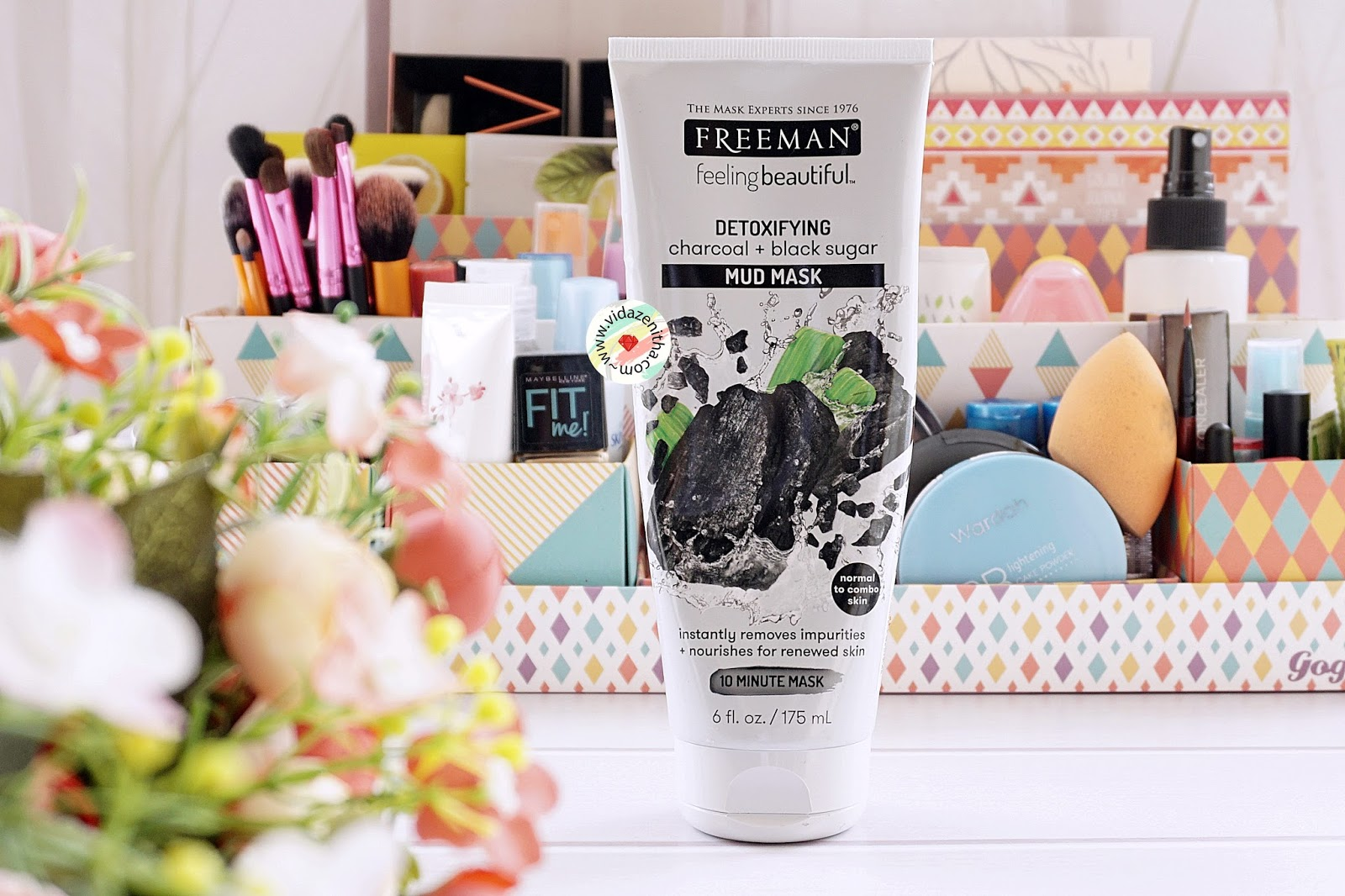 Review Freeman Detoxifying Charcoal Black Sugar Mud Mask Bahasa Indonesia