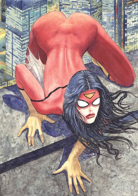 SPIDER-WOMAN DE MILO MANARA