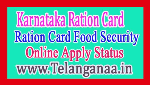 How to Apply for Ration Card in Karnataka