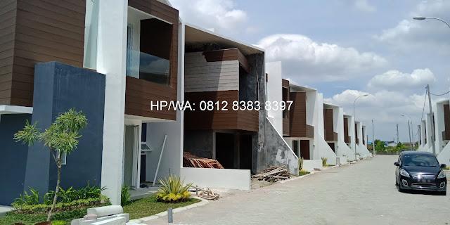 Jual Rumah The HABITAT Setiabudi Jalan Pasar III Tapian Nauli Medan Sunggal Medan Sumatera Utara - 0812 8383 8397